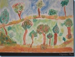 Δάσος. Ζωγραφική με τέμπερες, λαδοπαστέλ, ακουαρέλα (3)