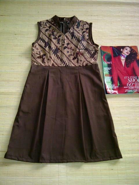 Batik dress  Indonesia Style Pinterest