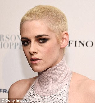 What a difference! The actress showed off her newly cropped blonde hair as she walked the red carpet