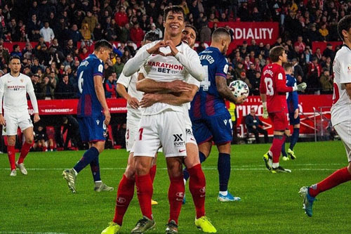 Sevilla, Osasuna ke 16 Besar Piala Raja, Zaragoza ...