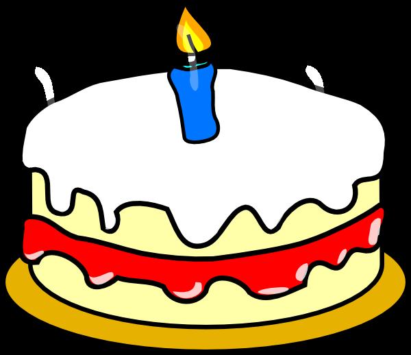 Cake Clipart 1st Birthday