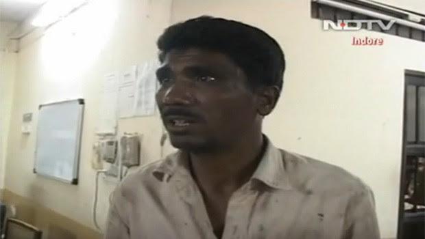 Sohanlal Chauhan, 43, levava consigo as chaves do cadeado (Foto: Reprodução)