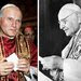 Pope John Paul II, left, and Pope John XXIII will be canonized on April 27, 2014.