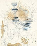 Salvador Dalí - The Pagoda: From the Hippies Suite (Prints)