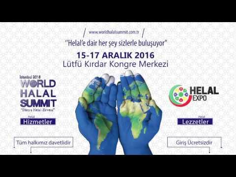 World Halal Summit & Helal Expo 2016 Istanbul