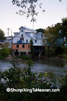 La Valle Mill, Sauk County, Wisconsin