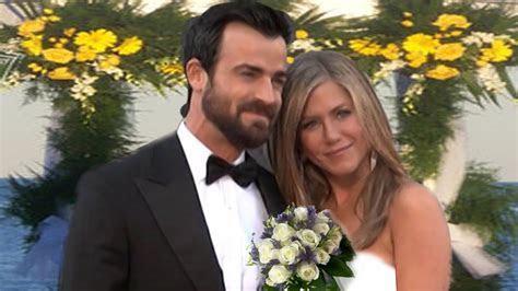 Jennifer Aniston & Justin Theroux's Wedding   YouTube