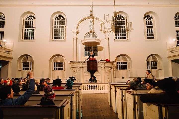 The 244th Anniversary Boston Tea Party Reenactment New England