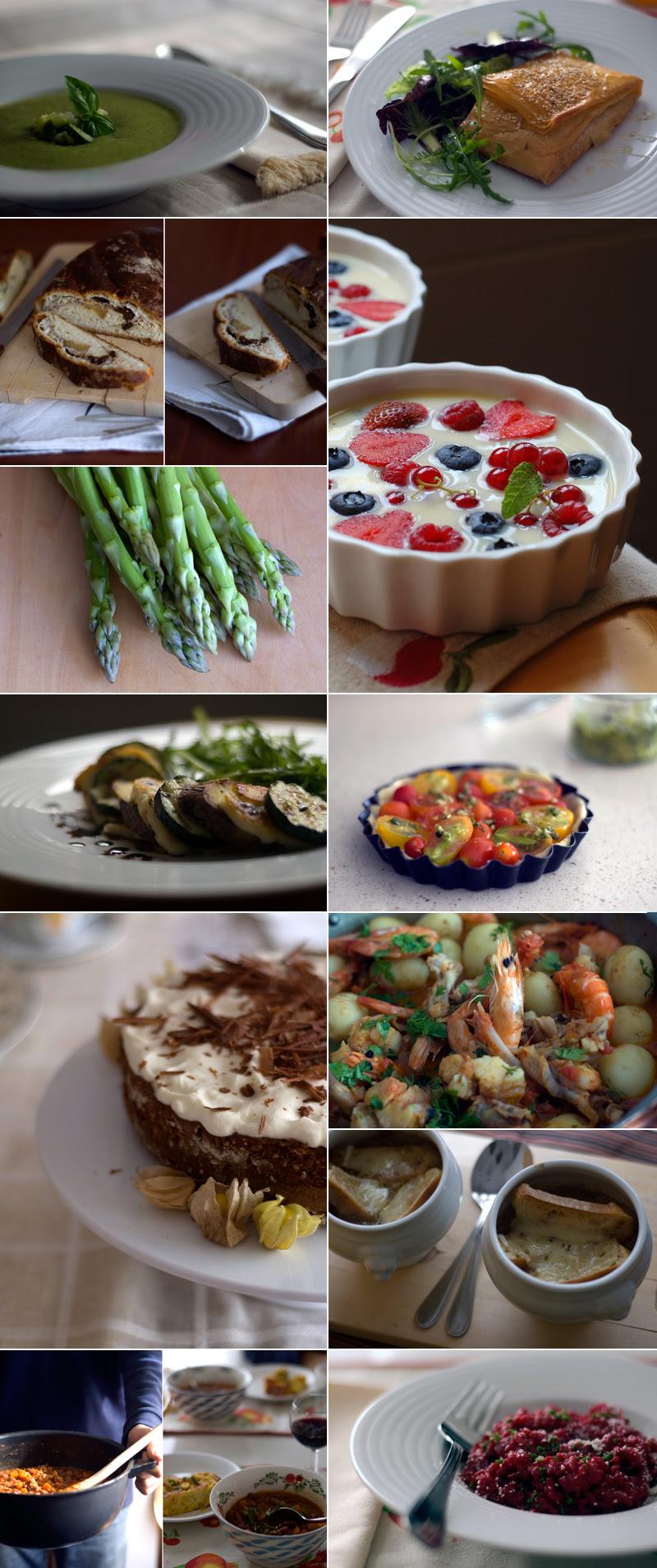 2011 em imagens // What we ate in 2011