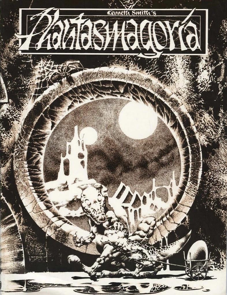 Kenneth Smith - Phantasmagoria Cover