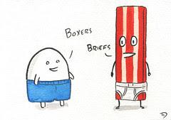 Boxers vs Briefs