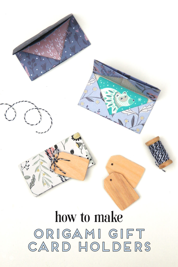 Learn How To Make An Origami Gift Card Envelope Gathering Beauty