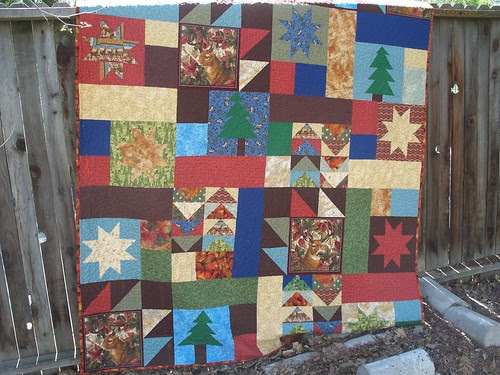 lodge quilt finished