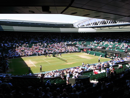3922 Wimbledon Center Court and roof