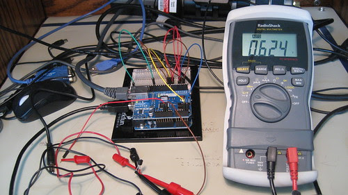 Analog Devices TMP36: Testing