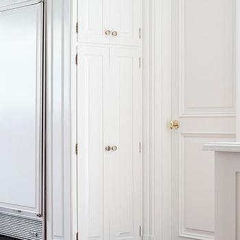 Beautiful Black Handles On Grey Kitchen Cabinets wallpaper