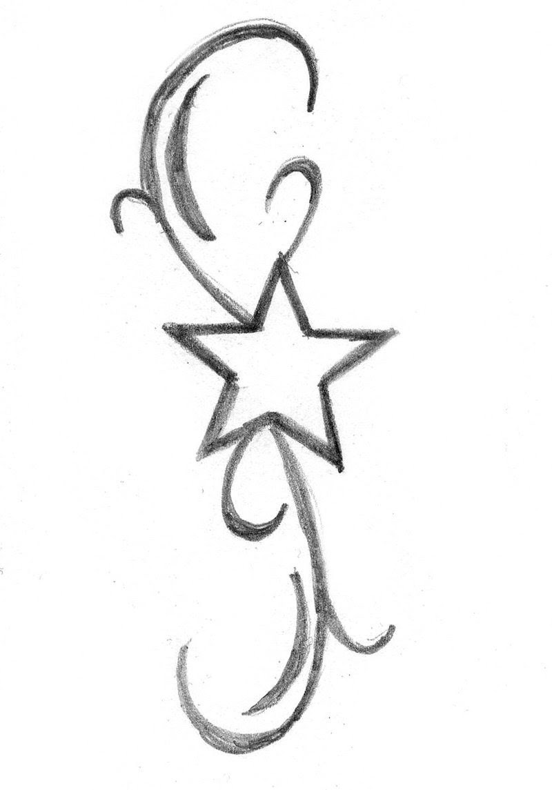 Free Simple Star Tattoos Designs Download Free Clip Art Free Clip