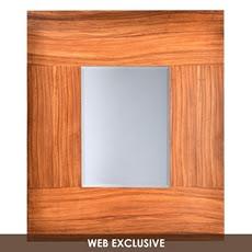 Wood Rollins Mirror, 36x42 at Kirkland's