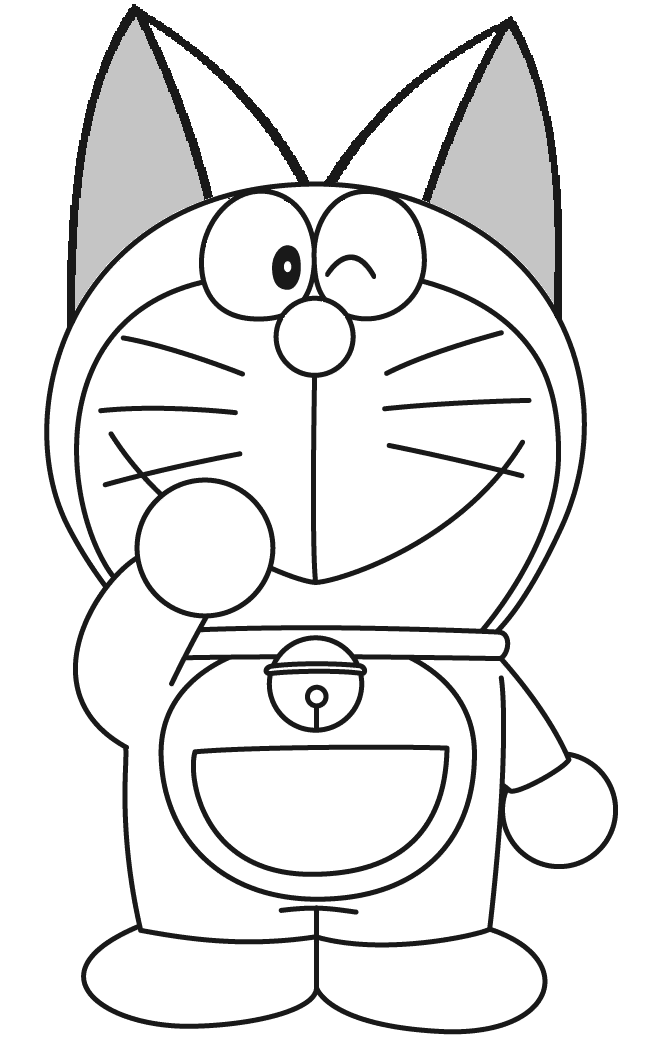 Image - Cute-doraemon-coloring-page.PNG   Doraemon Fanon ...