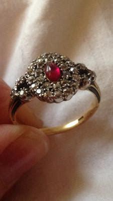 georgian ring date  origin