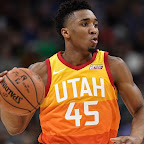 ed281ffe58f1 Utah Jazz guard Donovan Mitchell unveils his first signature shoe