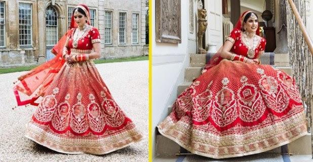 NY-based Anjuli Nanda put on lehenga by Prabal Gurung; ace designer also dressed Isha Ambani