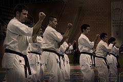 kata exhibicion XIX Cpto. Espana Karate Shinkyokushinkai
