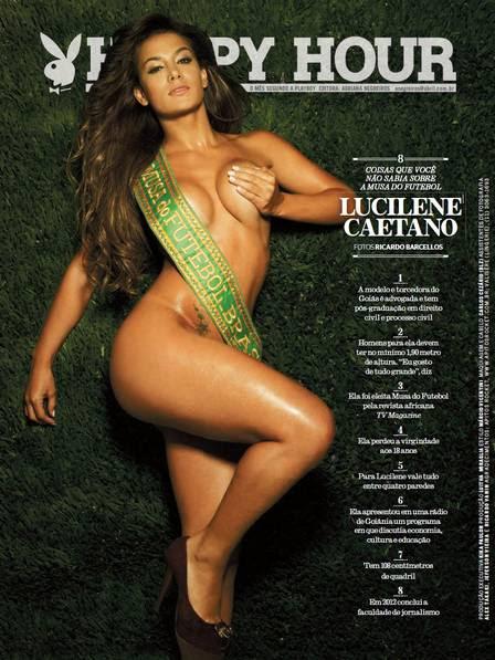 """Lucilene Caetano posou para o """"Happy Hour"""""""