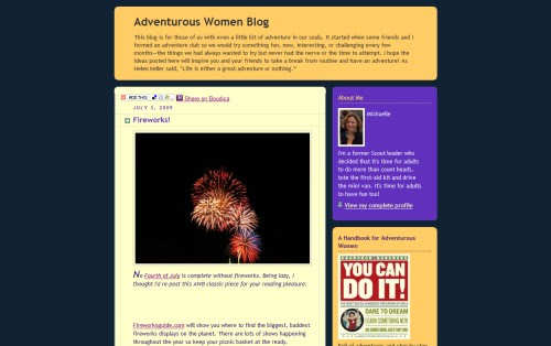 Adventurous Women Blog