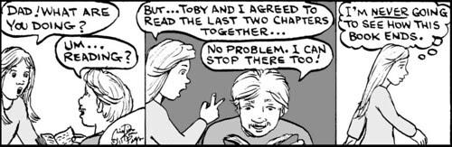 Home Spun comic strip #570