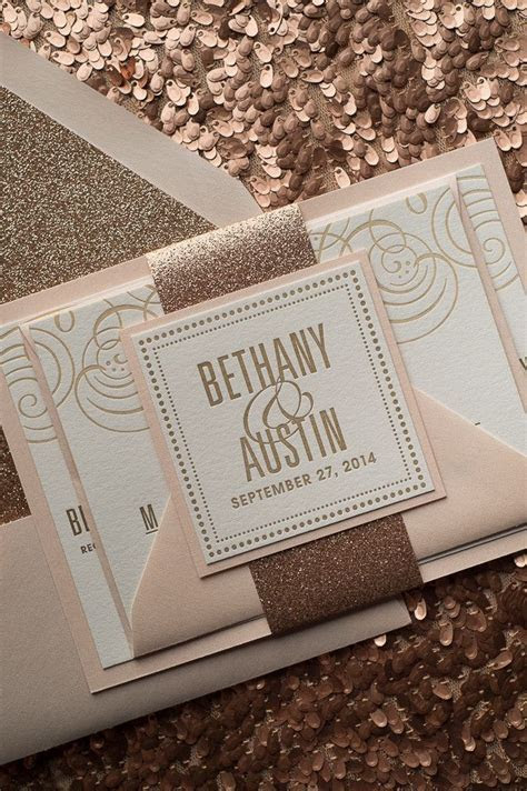 25  best ideas about Gold invitations on Pinterest   Foil
