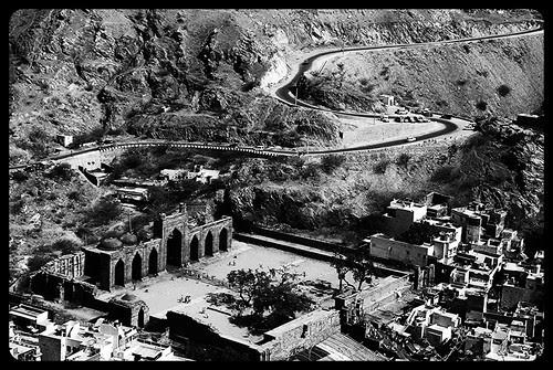 Dhai Djinn Ka Jhopda From Taragadh Mountains by firoze shakir photographerno1