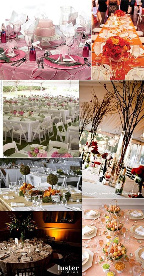 Even more wedding reception table layouts   Real Wedding