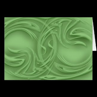 curls,card,greeting card,artwork,green,