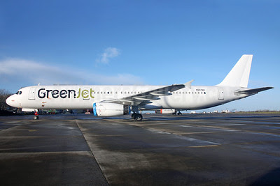 GreenJet Airlines (Greece) Airbus A321-131 N597AW (SX-GRN) (msn 597) DUB (Greenwing). Image: 921884.