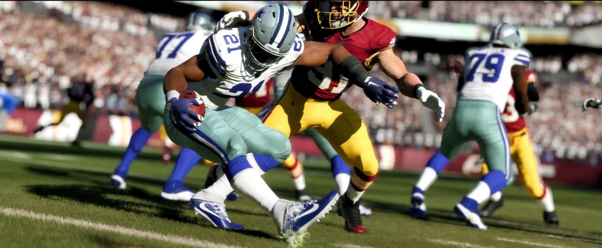 Køb Madden NFL 18  PS4 Digital Code  Playstation Network