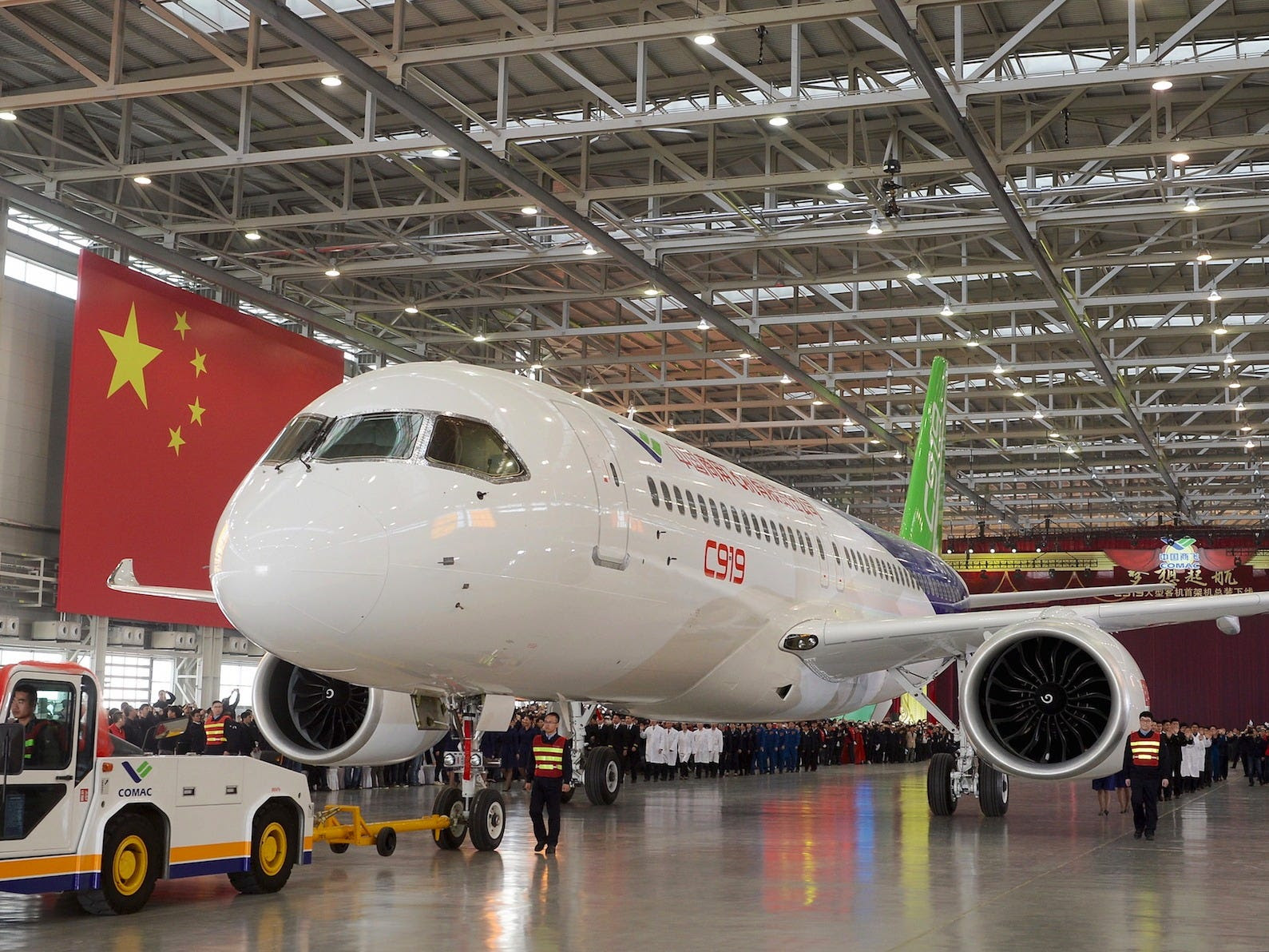 Commercial Aircraft Corp of China COMAC C919 Airplane