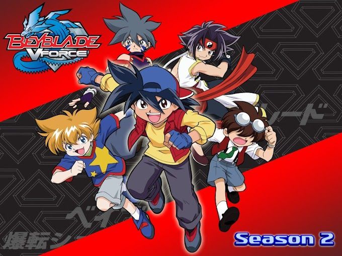 Beyblade Season 2 V-Force Episodes in Hindi Dubbed Download (720p HD)