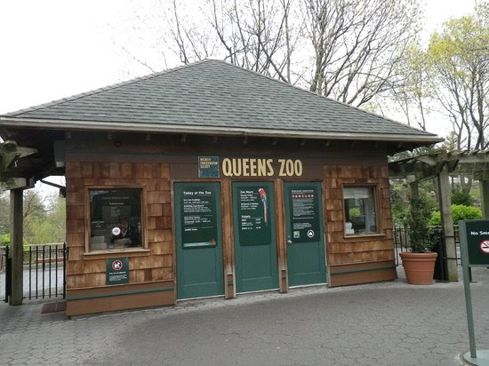 Queens Zoo: entrance