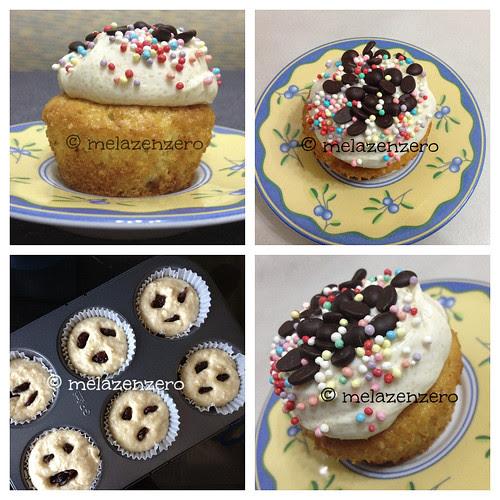 muffin alle ciliegie Collage