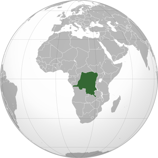 File:Democratic Republic of the Congo (orthographic projection).svg