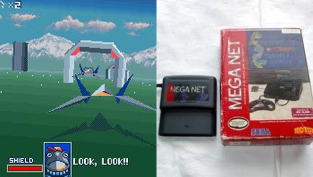 Star Fox com o Super FX e o cartucho Mega Net (Foto: Divulgação)