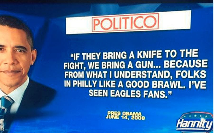 Image result for obama bring a gun to a knife fight
