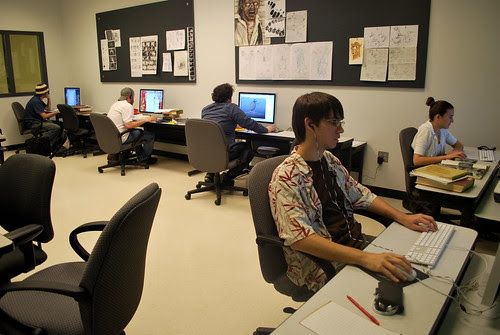 Animation & Visual Effects Program, LSUS  by trudeau