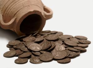 No limpiar las monedas