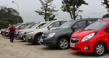 thị trường ô tô, sôi động, doanh số, lệ phí trước bạ, mẫu xe, thuế suất thuế nhập khẩu, gia nhạp AFTA.