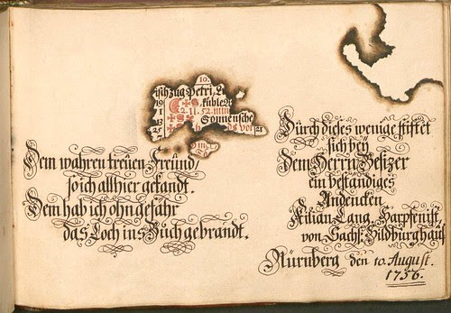 Liber Amicorum - Johann Christian Sigmund Mönch o