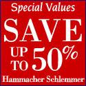 Special values at Hammacher
