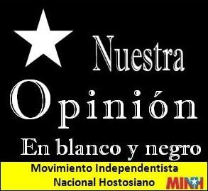 Nuestra Opinión en blanco y negro