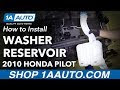 How To Replace Wiper Fluid Reservoir